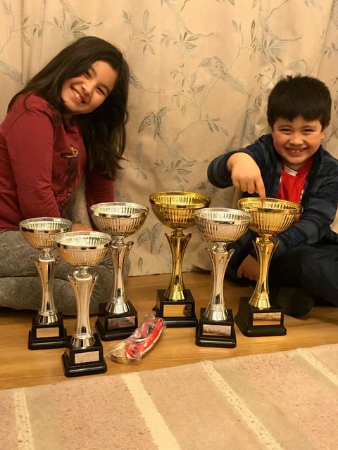Grand Prix Trophies & Medals